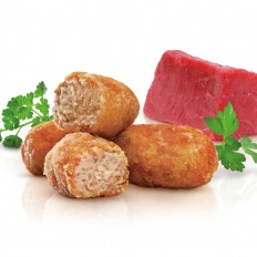Stewed meat croquettes