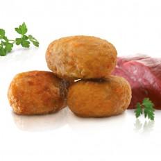 Minicroquetes de carn d'olla