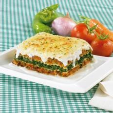 Lasagne aux légumes avec sauce béchamel
