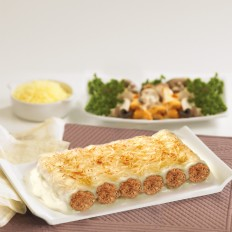 Meat Cannelloni with Béchamel Sauce