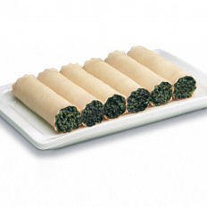 Spinach Cannelloni without Béchamel Sauce