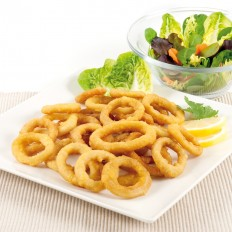 Battered squid rings Extra 50/50