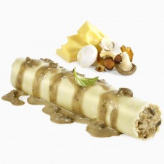 XXL Mushroom and cheese cannelloni without béchamel