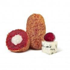 Beetroot and Gorgonzola Croquette