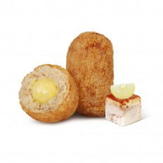 Suckling Pig and Apple Croquette