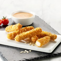 Chicken fingers with cereals