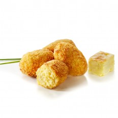 Spanish potato omelette croquettes