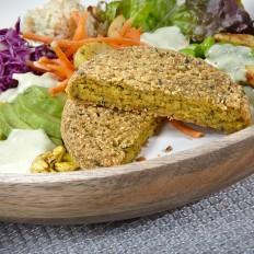 falafel vegan bowl