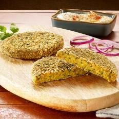 Crocburger de falafel