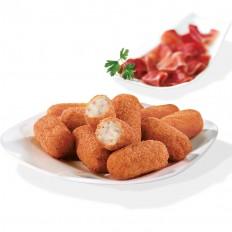 Serrano style ham croquettes