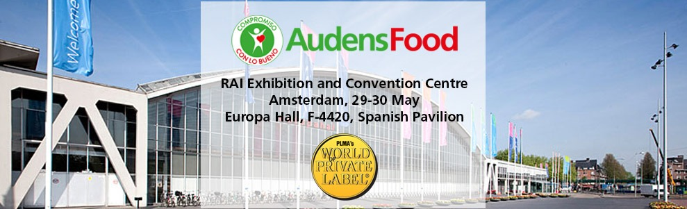 AUDENS FOOD IS WAITING FOR YOU AT PLMA